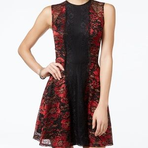 Material girl floral dress
